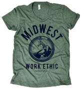 D.E.P.T The Social Midwest Work Ethic Tee Women's