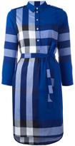 Burberry 'House Check' shirt dress - women - Cotton - 8
