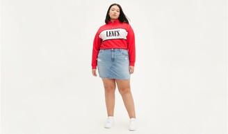 Levi's Deconstructed Skirt (Plus Size)