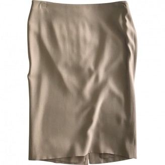 Alexander McQueen Beige Skirt for Women