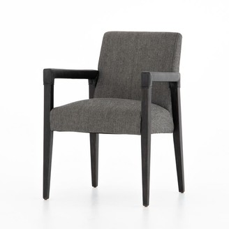 west elm Oak & Leather Dining Chair