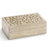Mela Artisans Jasmine Decorative Box, Medium