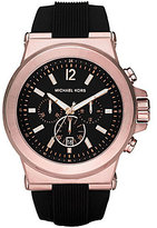 Michael Kors Dylan Silicone Strap Sport Watch