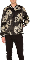 Standard Issue Dragon Bomber Jacket in Black. - size L (also in )
