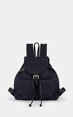 Barneys New York Women's Tech-Twill Backpack - Blue
