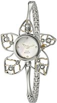 Titan Women's 9974BM01 Raga Pearls Analog Display Quartz Silver Watch