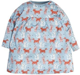 M&Co Cat print dress (9mths-5yrs)