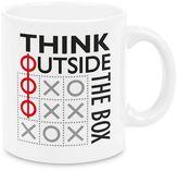 """Waechtersbach Think Outside the Box"""" 4-pc. Mug Set"""