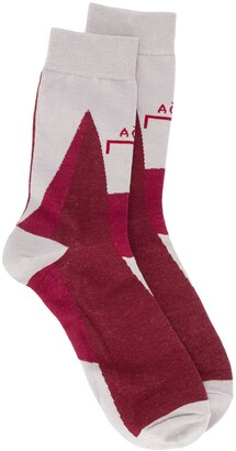 A-Cold-Wall* Logo Embroidered Ankle Socks