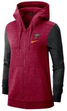 Nike Women's Cleveland Cavaliers Full-Zip Club Fleece Jacket