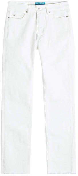 MiH Jeans High-Waisted Straight Jeans