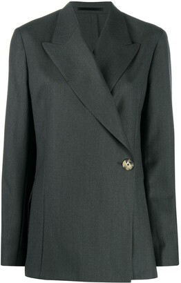 Remain Double-Breasted Wool Blazer