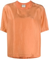Forte Forte Silk Short Sleeve Top