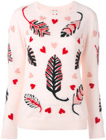 Chinti and Parker cashmere leaf sweater - women - Cashmere - S