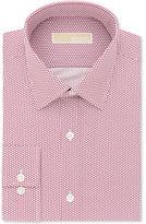 MICHAEL Michael Kors Men's Slim-Fit Non-Iron Berry Print Dress Shirt