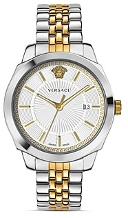 Versace Icon Classic Two-Tone Watch, 42mm