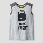 Batman Toddler Boys' The Dark Knight Tank - Grey