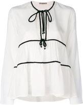 Ermanno Scervino ruffle blouse