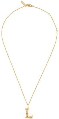 Chloé letter L pendant necklace