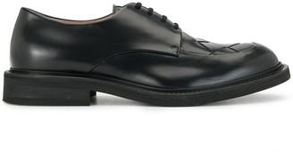 Bottega Veneta Intrecciato weave detailed Derby shoes