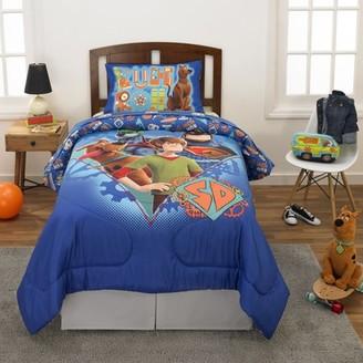 Scooby-Doo SCOOB! Bed in a Bag, Kids Bedding Bundle Set, 4-Piece TWIN