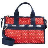 Le Sport Sac Star & Heart Print Handbag
