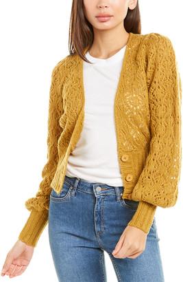 For Love & Lemons Francois Pointelle Sweater