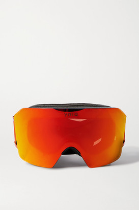 YNIQ - Model Nine Mirrored Ski Goggles - Orange