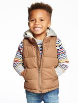 Old Navy Hooded Frost Free Vest for Toddler