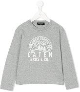 DSQUARED2 print sweatshirt - kids - Cotton - 4 yrs
