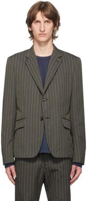 Junya Watanabe Brown Stripe Blazer