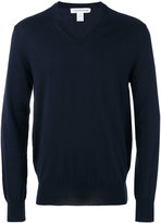 Comme des Garcons v-neck jumper - men - Cotton - S