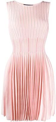 Antonino Valenti Smocked Stretch Knit Dress