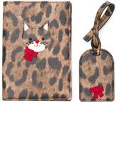 Dolce & Gabbana passport case and luggage tag