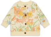 Gucci Baby's & Little Girl's Floral-Print Cardigan