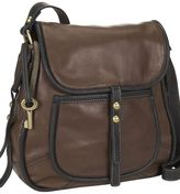"Fossil fifty-four ""chelsea"" flap cross-body bag"
