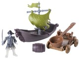 Spin Master Toys Spin Master Pirates of the Caribbean® Spin Master Boast & Catapult Action Figures