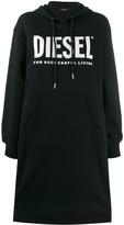 Diesel logo print sweat dress
