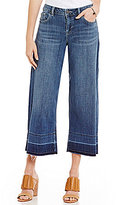 Vince Camuto Two By Undone Hem Denim Culottes