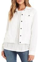 Michael Stars Women's Linen Denim Jacket
