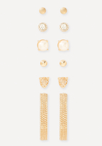 Bebe Glam Mix Earring Set