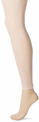 DKNY Women's Footless Lace Tights