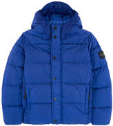 Stone Island Down and feather padding coat