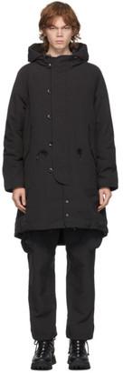 Snow Peak Black Down Takibi Coat