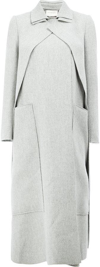 Maison Rabih Kayrouz concealed fastening double-breasted coat