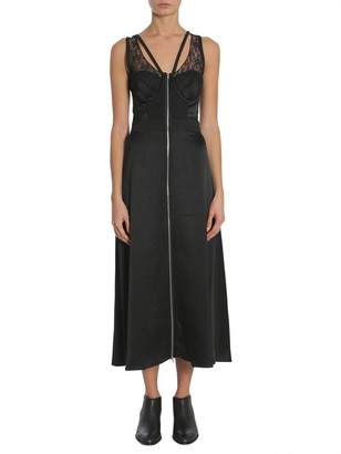 Alexander Wang Zip Front Midi Dress