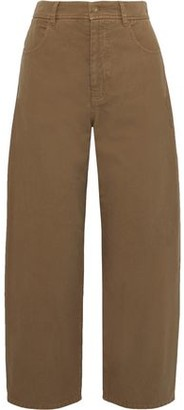 Nili Lotan Sam High-rise Wide-leg Jeans