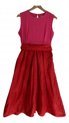 Preen Red Cotton - elasthane Dresses