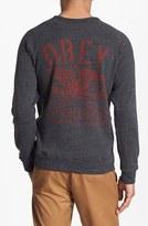 Obey 'Trademark Eagle' Crewneck Sweatshirt