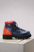 Sofie D'hoore Tricolor nappa mountain boots
